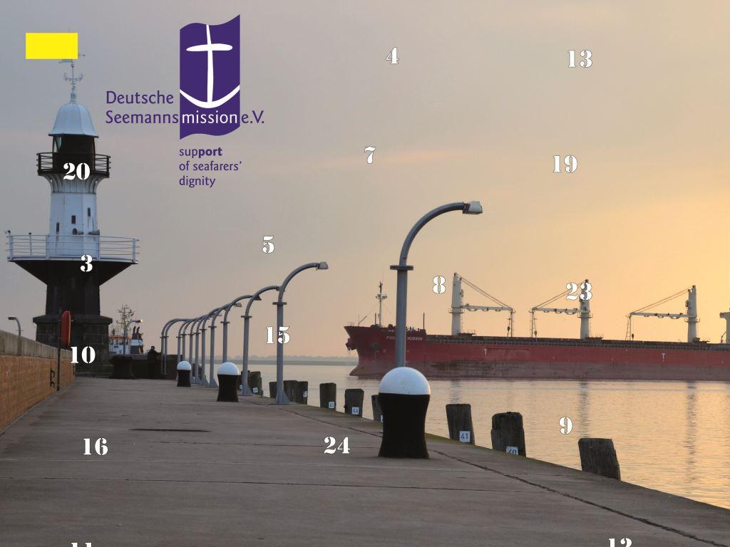 Cover Maritimer Adventskalender 2014