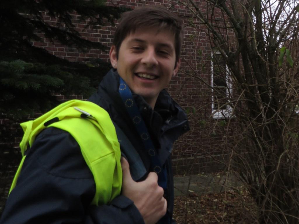 Dylan Meier beendet sein FSJ bei der Seemannsmission Brunsbüttel