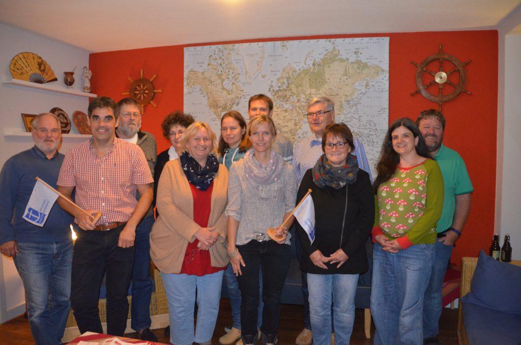 Der amtierende Vorstand. Nachdem sich Arne Sahm (2. von links) zurückgezogen hat, stehen im Mai Neuwahlen an.